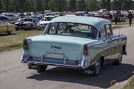 Back/Side of Chevrolet Bel Air 4-door Sedan 3.9 Powerglide, 142ps, 1956 at Nostalgifestivalen i Vårgårda 2016