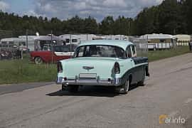 Back/Side of Chevrolet Bel Air 4-door Sedan 3.9 Powerglide, 142ps, 1956 at Nostalgifestivalen i Vårgårda 2017