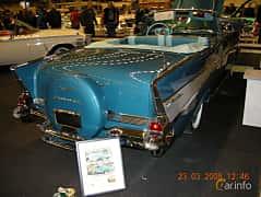 Bak/Sida av Chevrolet Bel Air Convertible 1957 på Bilsport Performance & Custom Motor Show 2008