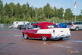 Bak/Sida av Chevrolet Bel Air Convertible 4.3 V8 Powerglide, 183ps, 1955 på Power End of Summer Meet Emmaboda 2018