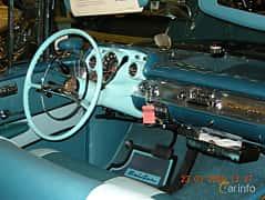 Interiör av Chevrolet Bel Air Convertible 1957 på Bilsport Performance & Custom Motor Show 2008