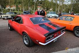 Back/Side of Chevrolet Camaro 5.4 V8 Powerglide, 214ps, 1968 at Kungälvs Kulturhistoriska Fordonsvänner  2019 Torsdag vecka 35
