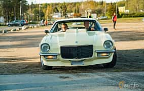 Front  of Chevrolet Camaro 5.0 V8 Powerglide, 203ps, 1971 at Wheelers Cruising, Vetlanda 2019