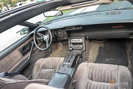 Interior of Chevrolet Camaro 5.0 V8 Automatic, 147ps, 1982 at Billesholms Veteranbilsträff 2019 augusti