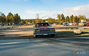 Front  of Chevrolet Caprice Sedan 5.0 V8 Automatic, 167ps, 1986 at Wheelers Cruising, Vetlanda 2019