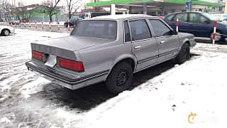 Back/Side of Chevrolet Celebrity Sedan 2.8 V6 Automatic, 127ps, 1989