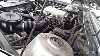 Engine compartment  of Chevrolet Celebrity Sedan 2.8 V6 Automatic, 127ps, 1989