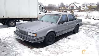 Front/Side  of Chevrolet Celebrity Sedan 2.8 V6 Automatic, 127ps, 1989