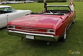 Back/Side of Chevrolet Chevelle Malibu Convertible 4.6 V8 Powerglide, 198ps, 1966