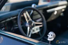 Interior of Chevrolet Chevelle Malibu Sport Coupé 5.0 V8 Powerglide, 203ps, 1969 at Lissma Classic Car 2019 vecka 20