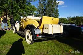 Back/Side of Chevrolet Confederate Cabriolet 3.2 Manual, 61ps, 1932 at Onsdagsträffar på Gammlia Umeå 2019 vecka 27