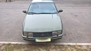 Front  of Chevrolet Corsica Sedan 3.1 V6 Automatic, 142ps, 1991