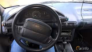Interior of Chevrolet Corsica Sedan 3.1 V6 Automatic, 142ps, 1991