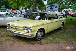 Fram/Sida av Chevrolet Corvair Monza Convertible 2.7 Powerglide, 97ps, 1964 på Sofiero Classic 2018