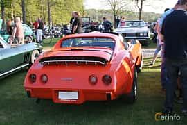 Back/Side of Chevrolet Corvette Stingray 5.7 V8 Automatic, 213ps, 1976