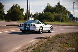 Back/Side of Chevrolet Corvette 5.7 V8 Automatic, 234ps, 1986 at Lergökarallyt 2018