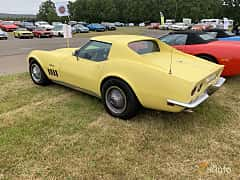 Back/Side of Chevrolet Corvette Stingray 5.7 V8 Automatic, 305ps, 1969 at Svenskt sportvagnsmeeting 2019