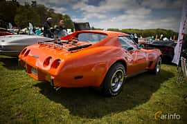 Back/Side of Chevrolet Corvette Stingray 5.7 V8 Automatic, 213ps, 1976 at Tjolöholm Classic Motor 2015