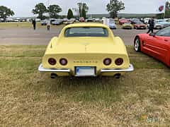 Back of Chevrolet Corvette Stingray 5.7 V8 Automatic, 305ps, 1969 at Svenskt sportvagnsmeeting 2019