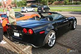 Back/Side of Chevrolet Corvette Grand Sport Convertible 6.2 V8 Automatic, 442ps, 2010