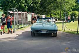 Front  of Chevrolet Corvette Stingray Convertible 5.4 V8 Manual, 355ps, 1966 at Ronneby Nostalgia Festival 2019