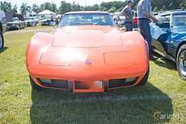 Front  of Chevrolet Corvette Stingray 5.7 V8 Automatic, 213ps, 1976 at Wheels & Wings 2017