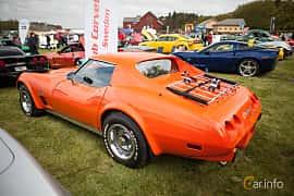 Side  of Chevrolet Corvette Stingray 5.7 V8 Automatic, 213ps, 1976 at Tjolöholm Classic Motor 2015