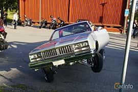 Front  of Chevrolet El Camino 5.0 V8 Hydra-Matic, 145ps, 1983 at Onsdagsträffar på Gammlia Umeå 2019 vecka 28
