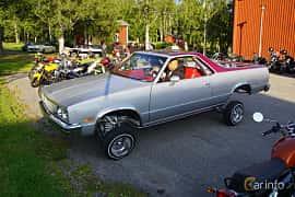 Front/Side  of Chevrolet El Camino 5.0 V8 Hydra-Matic, 145ps, 1983 at Onsdagsträffar på Gammlia Umeå 2019 vecka 28