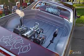 Interior of Chevrolet El Camino 5.0 V8 Hydra-Matic, 145ps, 1983 at Onsdagsträffar på Gammlia Umeå 2019 vecka 28