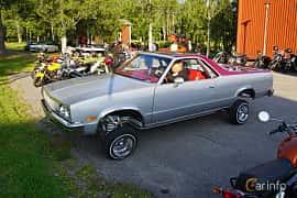 Side  of Chevrolet El Camino 5.0 V8 Hydra-Matic, 145ps, 1983 at Onsdagsträffar på Gammlia Umeå 2019 vecka 28