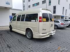 Back/Side of Chevrolet Express G1500 Passenger Van 5.3 V8 E85 Hydra-Matic, 305ps, 2010