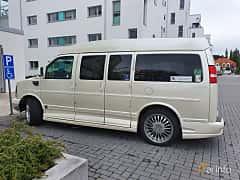 Side  of Chevrolet Express G1500 Passenger Van 5.3 V8 E85 Hydra-Matic, 305ps, 2010