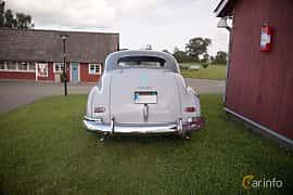 Back of Chevrolet Fleetmaster Sport Coupé 3.5 Manual, 91ps, 1948 at Bil & Mc-café vid Tykarpsgrottan v.33 (2017)