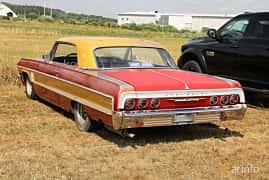 Back/Side of Chevrolet Impala Sport Coupé 4.6 V8 Manual, 198ps, 1964 at Falköping Nasco Yankee Meet 2018