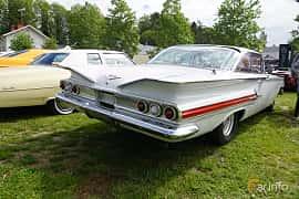 Back/Side of Chevrolet Impala Sport Coupé 5.7 V8 Powerglide, 324ps, 1960 at Motorträff på Olofsfors Bruk 2019