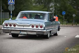 Back/Side of Chevrolet Impala Sport Sedan 4.6 V8 Powerglide, 198ps, 1963 at Hässleholm Power Start of Summer Meet 2015