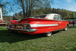 Back/Side of Chevrolet Impala Convertible 5.7 V8 Powerglide, 324ps, 1960 at Lissma Classic Car 2019 vecka 20