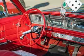 Interior of Chevrolet Impala Convertible 4.6 V8 Powerglide, 198ps, 1966 at Lissma Classic Car 2019 vecka 20