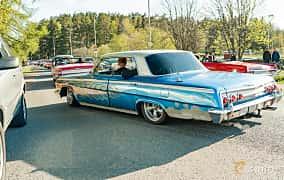Back/Side of Chevrolet Impala Sedan 3.9 Powerglide, 137ps, 1962 at Wheelers Cruising, Vetlanda 2019