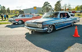Front/Side  of Chevrolet Impala Sedan 3.9 Powerglide, 137ps, 1962 at Wheelers Cruising, Vetlanda 2019