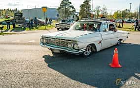 Front/Side  of Chevrolet Impala Sedan 3.9 Powerglide, 137ps, 1961 at Wheelers Cruising, Vetlanda 2019