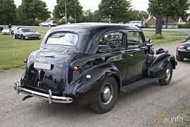 Back/Side of Chevrolet Master 85 Town Sedan 3.5 Manual, 86ps, 1939 at Tisdagsträffarna Vikingatider v.25 / 2017