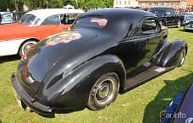 Back/Side of Chevrolet Master Coupé 3.5 Manual, 86ps, 1937 at Hässleholm Power Start of Summer Meet 2016