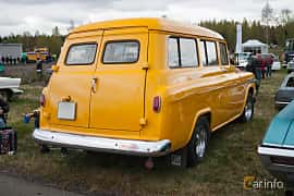 Back/Side of Chevrolet Suburban Carryall 3.9 Manual, 137ps, 1959 at Örebro Spring meet 2015