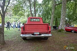 Back of Chevrolet Apache 31/32 4.6 V8 Manual, 162ps, 1958 at Billesholms Veteranbilsträff 2019 augusti