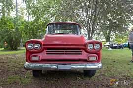 Front  of Chevrolet Apache 31/32 4.6 V8 Manual, 162ps, 1958 at Billesholms Veteranbilsträff 2019 augusti