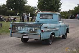 Back/Side of Chevrolet Apache 3200 3.9 Automatic, 137ps, 1959 at Tisdagsträffarna Vikingatider v.25 / 2017
