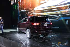 Back/Side of Chevrolet Traverse 2017 at North American International Auto Show 2017