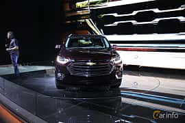 Front  of Chevrolet Traverse 2017 at North American International Auto Show 2017